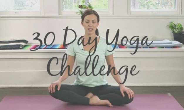 30 Day Yoga Challenge [An Easy At-Home Journey]