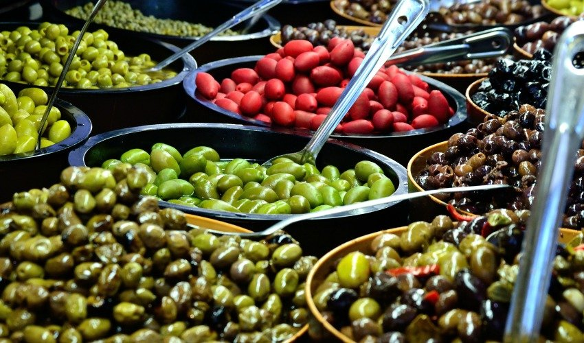 Food from the market makes a delicious treat when traveling