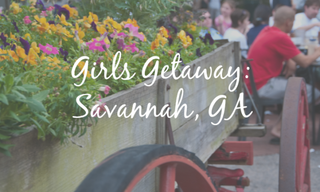 Girls Getaway Savannah [Food, Pubs, Movie Tours and More]