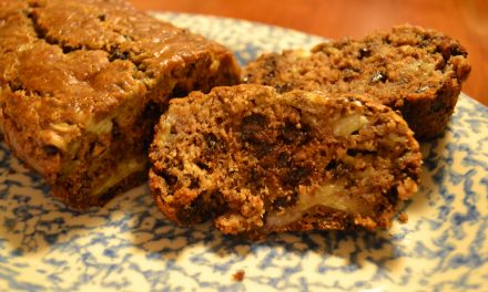 Banana Bread with Chocolate Chips [So Delicious, you won't know it's healthy]