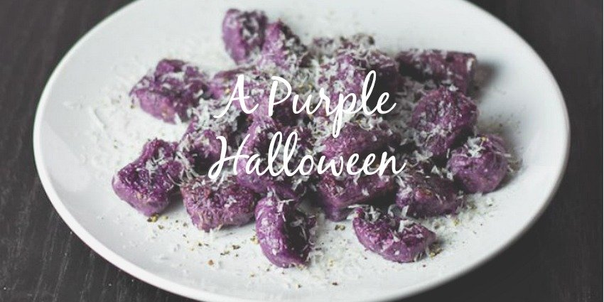 Purple Halloween: Food and Decor for a Grown-Up Party