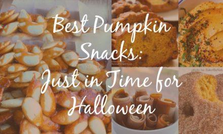 Best Pumpkin Snacks [Just in time for Halloween]
