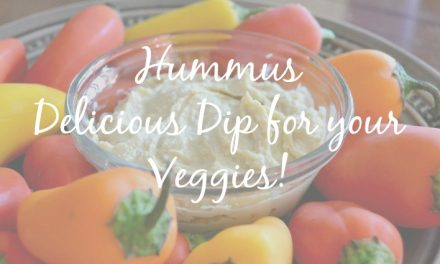 Hummus-Healthy Dip and Spread for Veggies [Recipe]