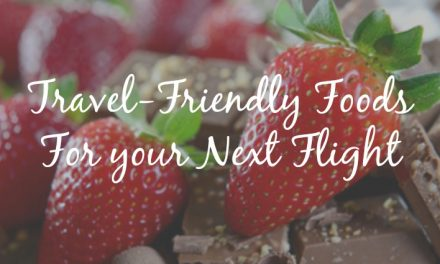 Travel Friendly Foods For Your Next Flight