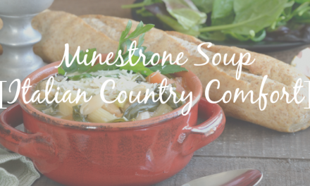 Minestrone Soup [Healthy Italian Comfort Food]