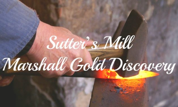 Sutter's Mill Marshall Gold Discovery
