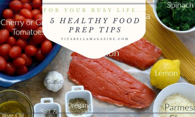 5 Healthy Food Prep Tips for Your Full-Time Life