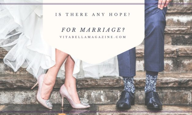Is There Any Hope for Marriage?