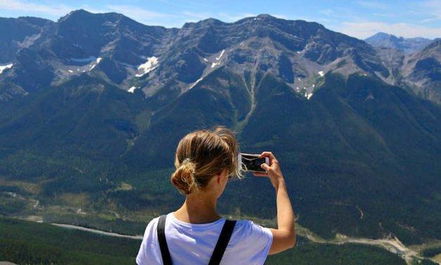 Pilgrims Gather at Ha Ling Peak: A Travelers Story